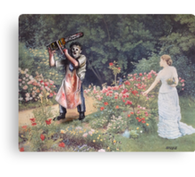 Not the Gardener Canvas Print