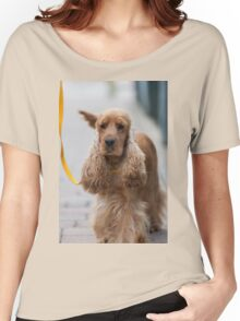cocker dog Women's Relaxed Fit T-Shirt