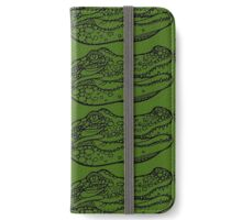 Croc iPhone Wallet/Case/Skin