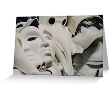 carnival mask Greeting Card
