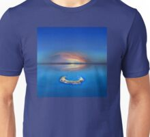 Sunset over Molokini, Hawaii - Drone View Unisex T-Shirt