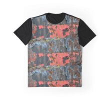 Rusty Old Boat Paint Graphic T-Shirt