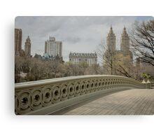 Bow Bridge Canvas Print