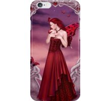 Garnet Birthstone Fairy iPhone Case/Skin