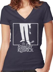 The Genius Named... Women's Fitted V-Neck T-Shirt