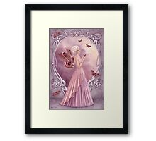 Pearl Birthstone Fairy Framed Print