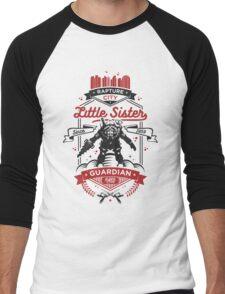 Little Sister Protector Men's Baseball ¾ T-Shirt