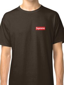 Red Supreme logo  Classic T-Shirt