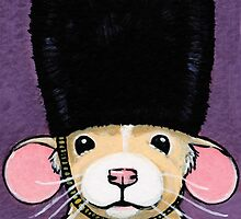 Fancy Rat in a Bearskin Hat by Lisa Marie Robinson