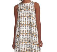 African animals design A-Line Dress