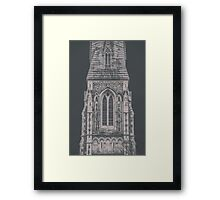 Gothic Church Tower Framed Print
