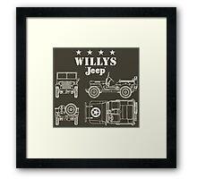 Willis Jeep Framed Print