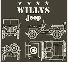 Willis Jeep Photographic Print
