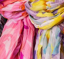 colorful scarf by spetenfia
