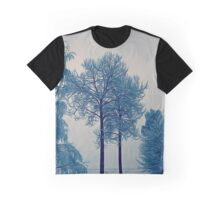 'Winter Trees In Leksand' Graphic T-Shirt