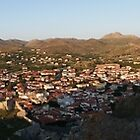 Panorama of Myrina, Limnos by Vicki Spindler (VHS Photography)