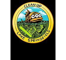 Clean Up Lake Springfield! Photographic Print