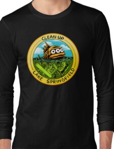 Clean Up Lake Springfield! Long Sleeve T-Shirt