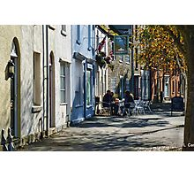 Street Scene In Bridport Dorset, UK Photographic Print