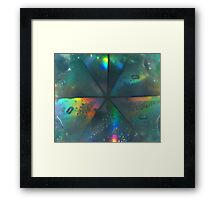 Water & Mirrors Framed Print