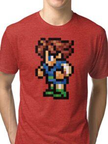-FINAL FANTASY- Bartz Pixel Tri-blend T-Shirt