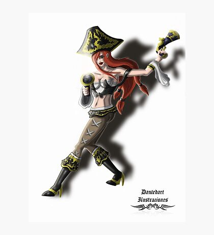 League of Legends Miss Fortune Character Photographic Print