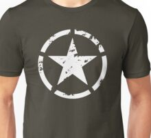 Military star grunge Unisex T-Shirt