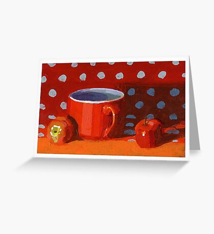 Red Cup Greeting Card