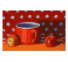 Red Cup Photographic Print