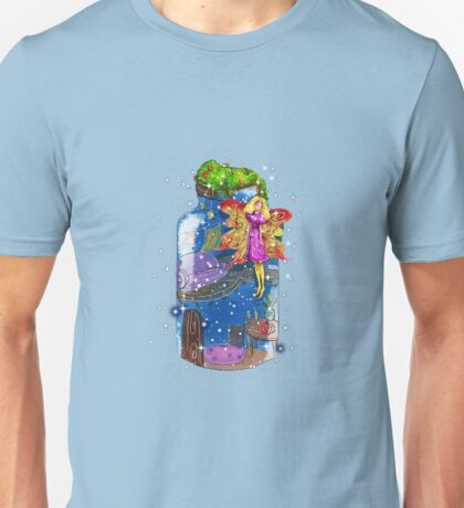 Molly The Mason Jar Fairy Unisex T-Shirt