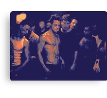 Fight Club film still edit Canvas Print