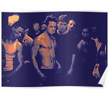 Fight Club film still edit Poster