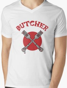 The Butcher Mens V-Neck T-Shirt