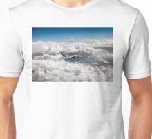 Avro Vulcan above towering clouds Unisex T-Shirt