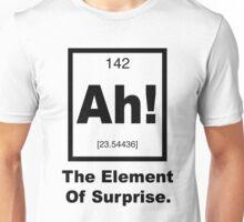 Ah! The element of Surprise Unisex T-Shirt