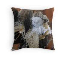 carnival mask Throw Pillow