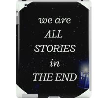 All stories iPad Case/Skin