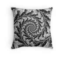 Abstract shapes and patterns Throw Pillow
