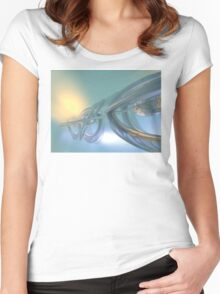 Traveling Through Time Women's Fitted Scoop T-Shirt