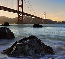 Golden Gate - San Francisco at Sunset by Usadventures