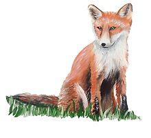 Looking Foxy by popartbynatalie