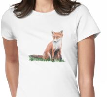Looking Foxy Womens Fitted T-Shirt