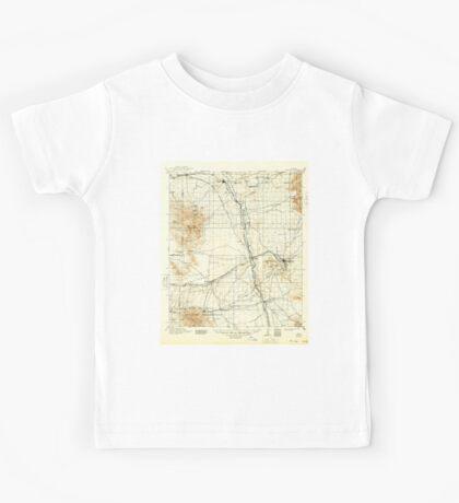 USGS TOPO Map Arizona AZ Benson 315329 1915 125000 Kids Tee