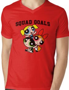 Powerpuff Squad Mens V-Neck T-Shirt