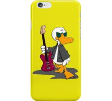Cool Duck with Guitar iPhone Case/Skin