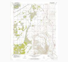 USGS TOPO Map Arizona AZ Parker SE 312782 1970 24000 One Piece - Short Sleeve