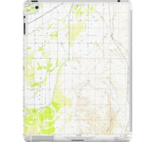 USGS TOPO Map Arizona AZ Parker SE 312782 1970 24000 iPad Case/Skin