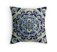 Bohemian Mandala Throw Pillow
