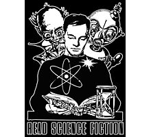 Read Science Fiction Photographic Print