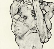 Egon Schiele - Zeichnungen II  (1914)  Sticker